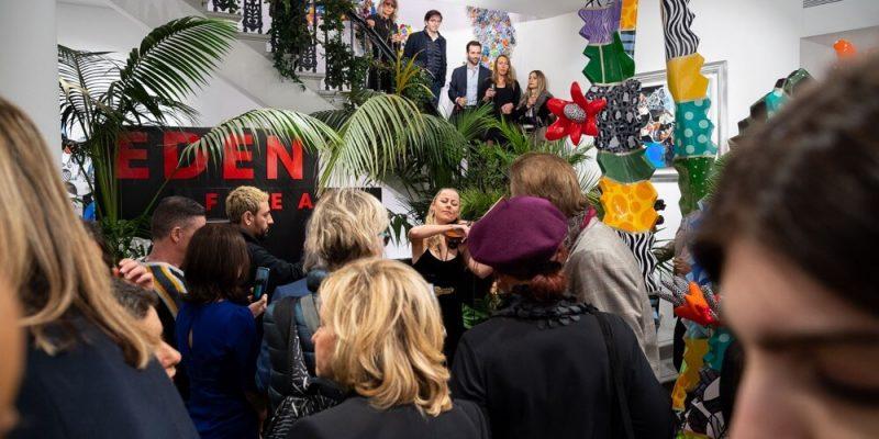 The Garden Of Eden - Yoel Benharrouche - Eden FIne Art London 2019